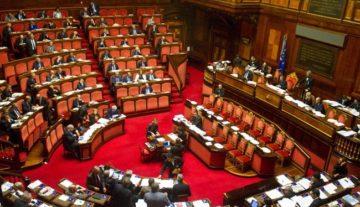 Palazzo Madama, le sedie rosse del Senato
