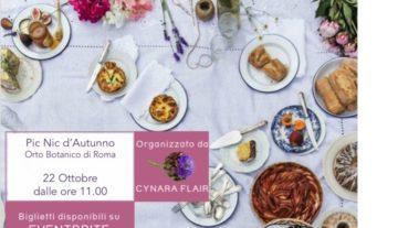 Sabato 22 ottobre a Roma i picnic botanici di Cynara Flair