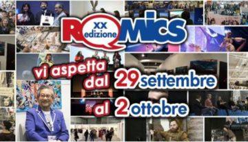 """Romics alla Fiera di Roma """"spazi ideali per numeri straordinari"""""""