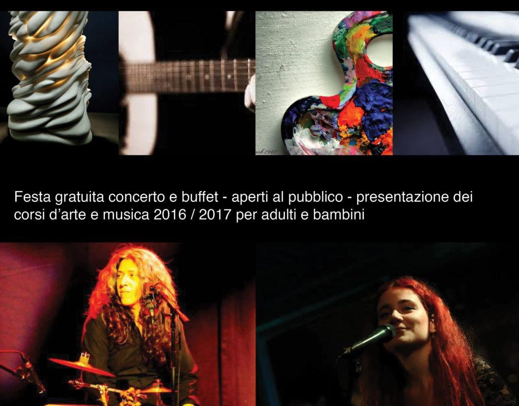 Scuola delle Arti, festa e concerti. Ingresso gratuito domenica 18