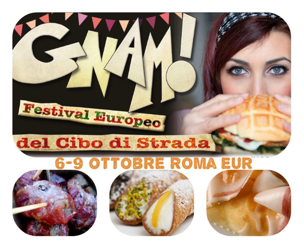 Gnam! Il Festival Europeo del Cibo di Strada dal 6 al 9 ottobre