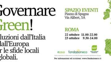 Governare green. Soluzioni dall'Italia e dall'Europa