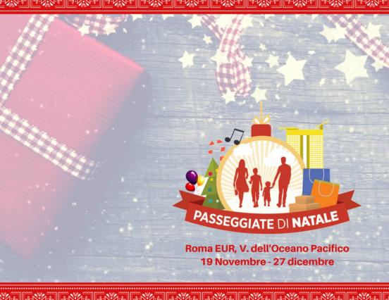 Torna Passeggiate di Natale, il mercatino dell'Eur fino al 27 dicembre