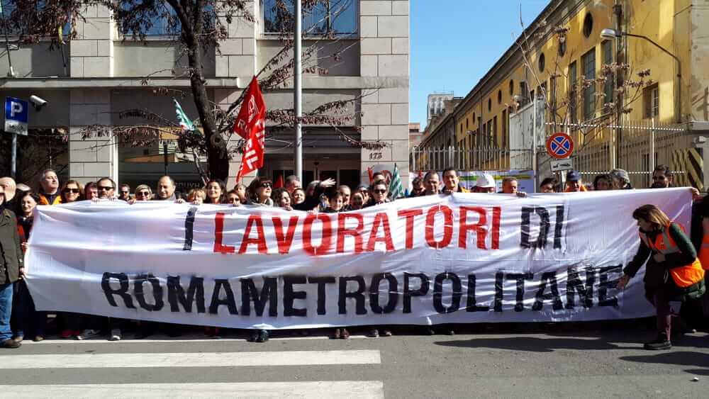 a99f6d8b38 Roma Metropolitane comunica: indetto per il 27 novembre sciopero e  manifestazione in Campidoglio.