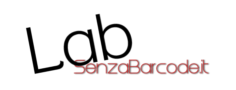 Il Lab di SenzaBarcode è il contenitore dei vari progetti di Academy più le collaborazioni che ne nascono.